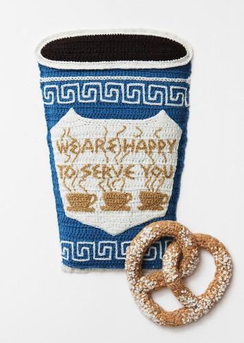 Incredibly Creative Food Art Crocheted with Yarn