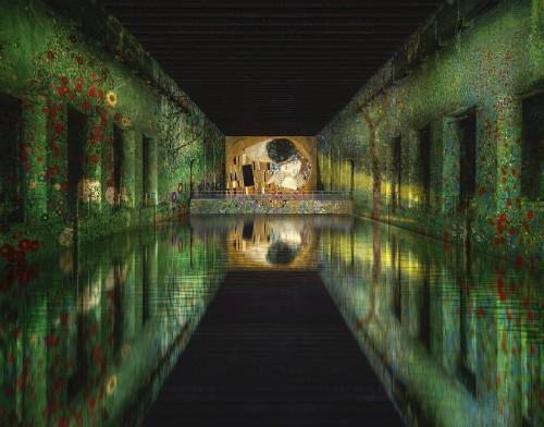 WWII Submarine Base Turned Into World's Largest Digital Art Center