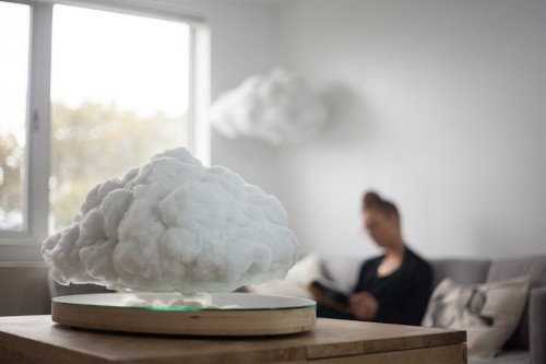 Bluetooth Speaker Ingeniously Disguised as Cotton Cloud That Floats Inside Your Home