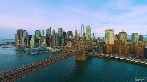 12K Aerial Footage Captures the NYC Skyline in Dazzling Detail