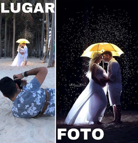 "Photographer Continues to Reveal the Truth Behind the ""Perfect"" Shot"