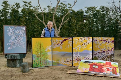 "77-Year-Old Man ""Paints"" Beautiful Japanese Landscapes on Excel Spreadsheets"
