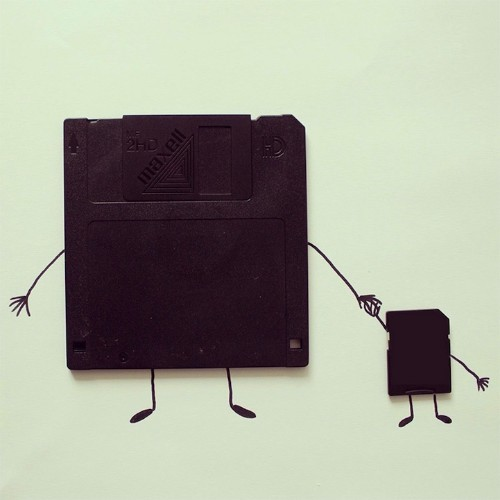 Whimsical Illustrations Merge with Everyday Objects