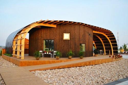Swedish University Students Design Modern Solar-Powered Home