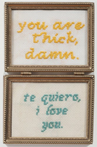 Disparaging Catcalls Transformed Into Delicate Needleworks