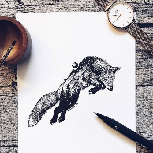 Artist Draws Millions of Tiny Dots to Calmly Ease Her Anxiety and the Results Are Amazing