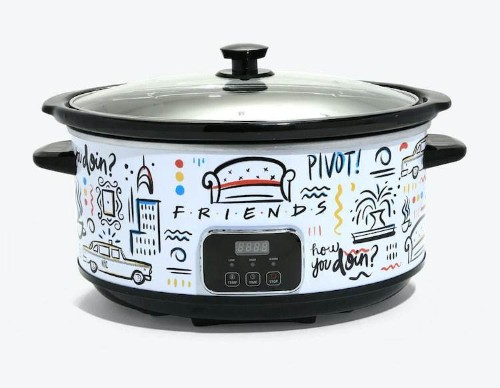 This 'Friends'-Themed Slow Cooker Lets You Cook Like Monica Geller