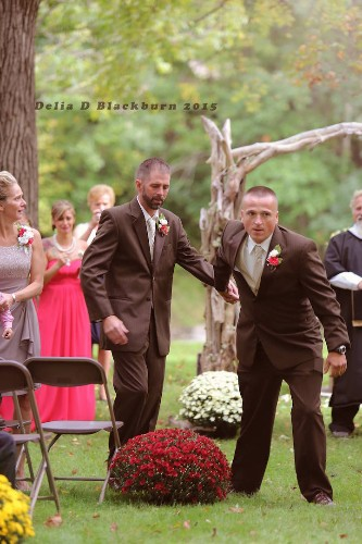 Bride's Father Halts Wedding So Daughter's Stepdad Can Walk Down the Aisle with Them