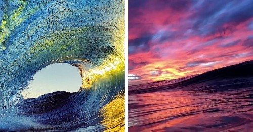 iPhone Photographer Captures the Majestic Beauty of Breaking Waves