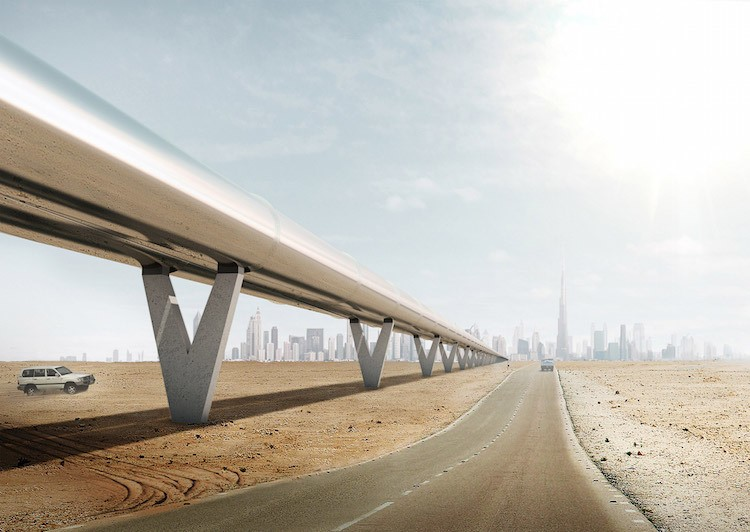 Hyperloop to Connect Dubai and Abu Dhabi in Just 12 Minutes