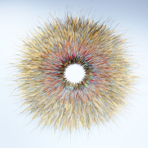 Nature-Inspired Woven Stainless Steel Sculptures by Michelle Mckinney