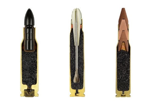 A Revealing Look at Bullets Precisely Split in Half
