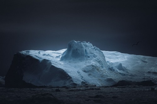 Atmospheric Photos Capture the Diverse and Quiet Beauty of Icebergs in Greenland