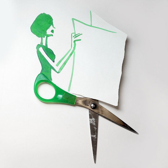 Artist Christoph Niemann Transforms Everyday Items into Whimsical Sketches
