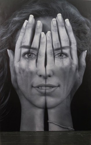 Optical Illusion Paintings Distort Ideas of Reality