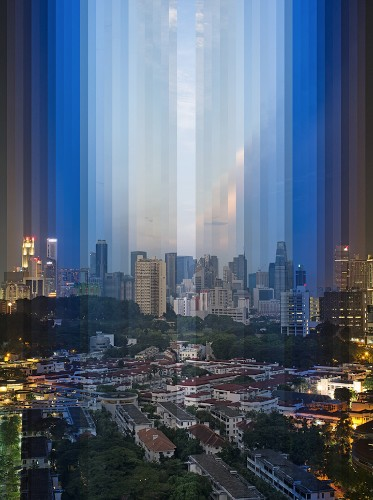 Stunning Cityscapes Formed with Photographic Slices of Time