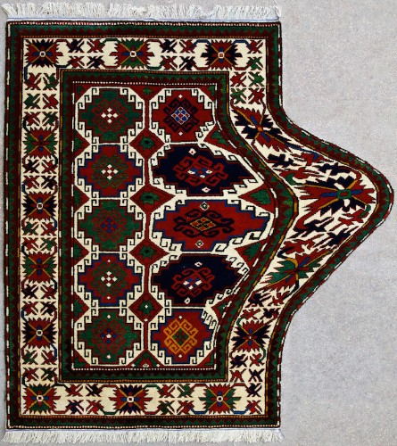 Traditional Rugs Recreated with Technological Glitches by Faig Ahmed