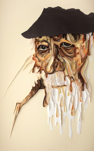 Colorful 3D Paper Designs Beautifully Showcase Emotion
