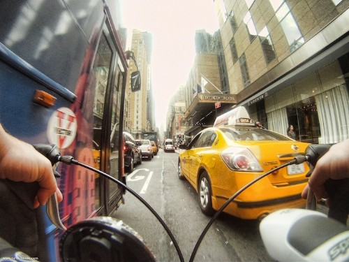 Cyclist Captures New York Through the Eyes of a Bicycle