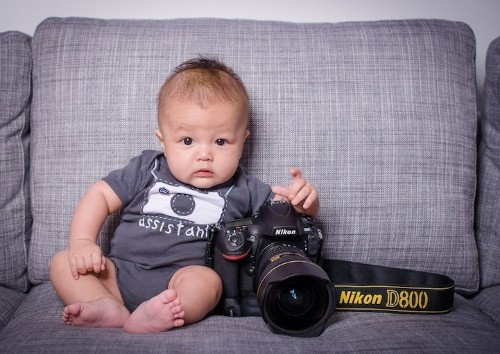 Mechanical Engineer Finds His Creative Side While Capturing His Two Kids