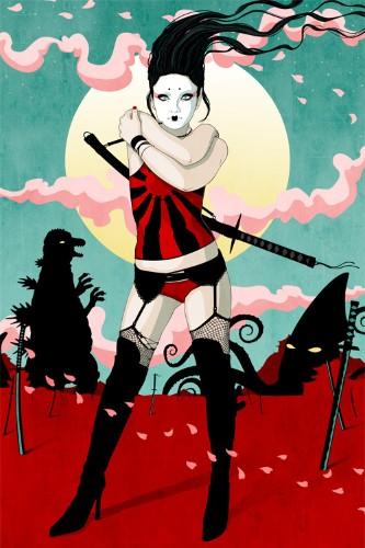 """Girls are Pretty"" – the Stuntkid (13 Illustrations)"