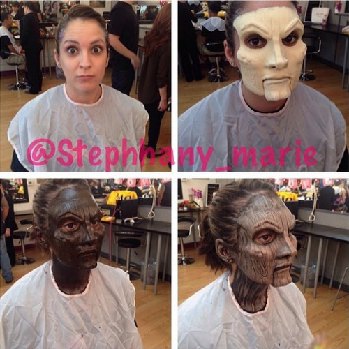 Woman's Incredible Makeover Turns Her into a Wooden Doll