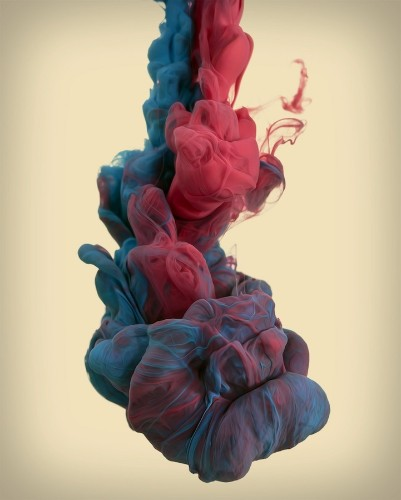 Magnificent Swirls of Ink in Water by Alberto Seveso