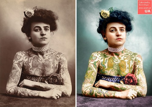 Colorized Photos Breathe New Life Into Famous Faces From History