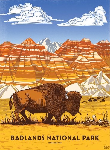 59 Retro Posters Celebrate the Colorful Diversity of America's National Parks