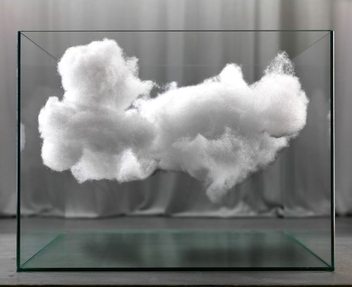 Mysterious Photos of Fluffy Clouds Encased in Glass by Raffaello De Vito