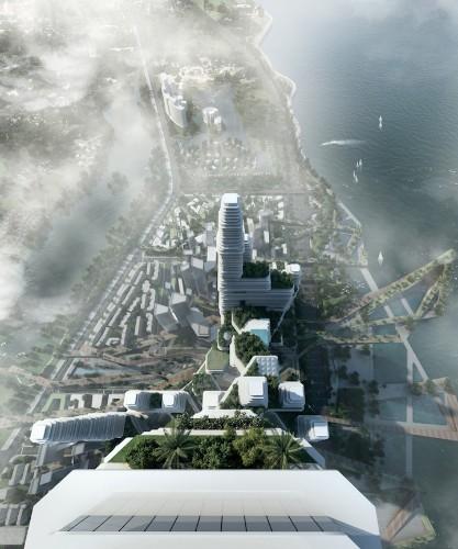 Winning Design Proposes Concept for Futuristic Urban Community