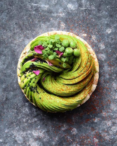 Food Blogger Continues to Meticulously Transform Avocados into Edible Masterpieces