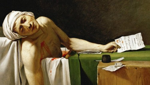 'The Death of Marat': A Powerful Painting of One of the French Revolution's Most Famous Murders