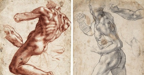 Amazing Michelangelo Drawings Now in the U.S. For the First Time