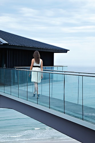 Elevated Vacation Home Offers Incredible Views of the Ocean