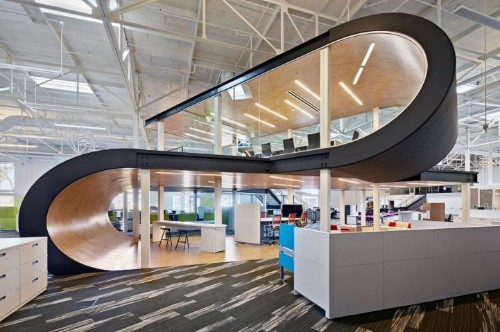 One Workplace's Beautiful New Showroom and Headquarters