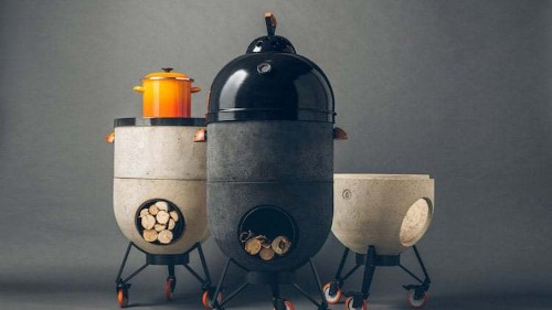 This Modern Stove Is a 4-in-1 Cooking Gadget