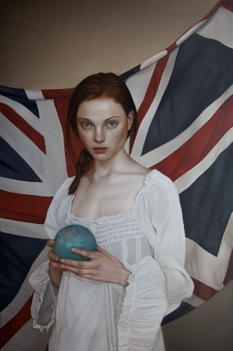 New Enchanting Oil Painting Portraits by Mary Jane Ansell