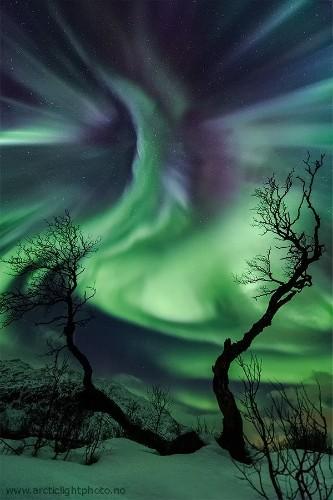 Stunning Aurora Borealis Photos Taken in Norway