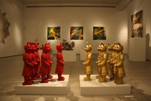 Modern Sculptures Depict Ancient Terracotta Warriors as Pop-Culture Icons