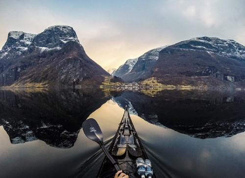 Phenomenal Shots of Norway's Fjords from the Stunning Perspective of a Kayaker