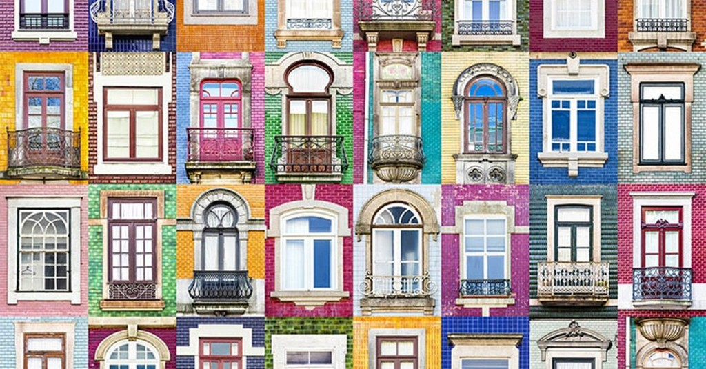Photographer Takes 3,200+ Photos Capturing the Vibrant Diversity of Portugal's Windows