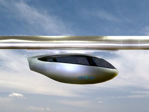 Tel Aviv's Futuristic Skytrain Transportation System