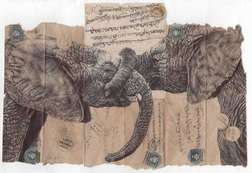 Pen Drawings on Old Documents Prove Talent Is More Important Than Fancy Tools