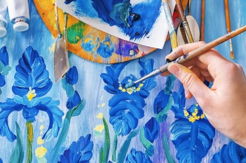11 Easy Acrylic Painting Techniques for Artists of All Levels