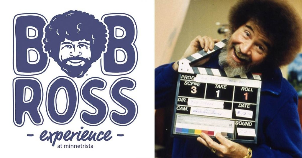 'Bob Ross Experience' Exhibit Opens in Indiana to Celebrate the Beloved TV Painter Forever