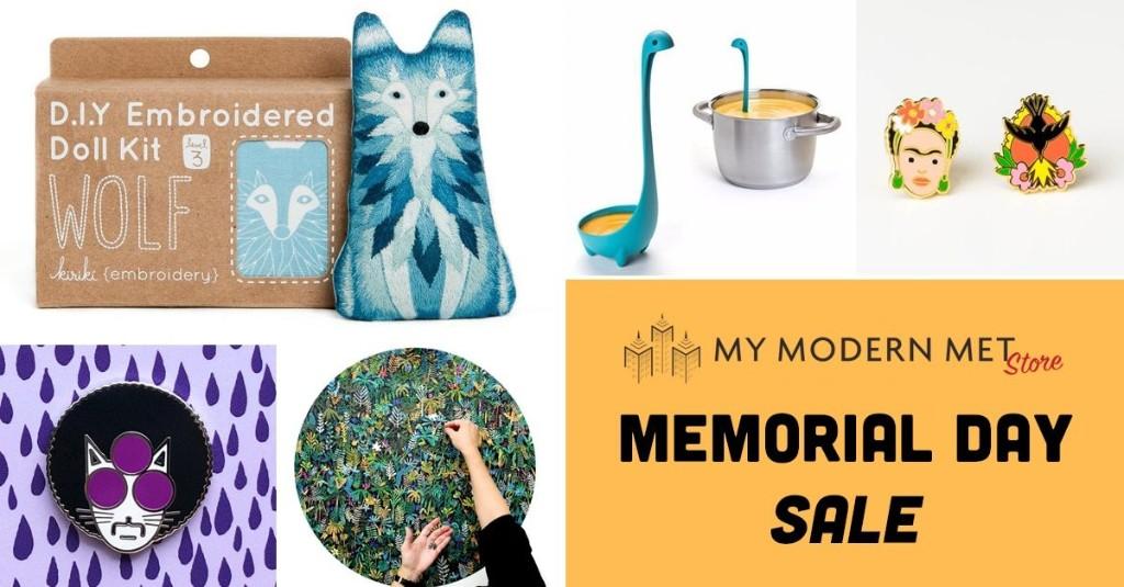 Venta de Memorial Day en My Modern Met Store: 15% de descuento en todos nuestros productos creativos