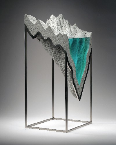 Former Boat Builder Turns His Love of Oceans into Glass Sculptures
