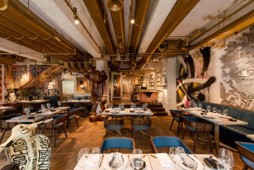 Every Wall in This Restaurant Is Specially Made Art by Famous Street Artists