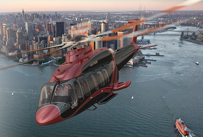 State-of-the-Art Helicopter Has an Incredibly Luxurious Interior